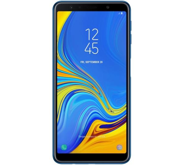 Smartphone Samsung Galaxy A7 2018 64GB Dual Sim Blue