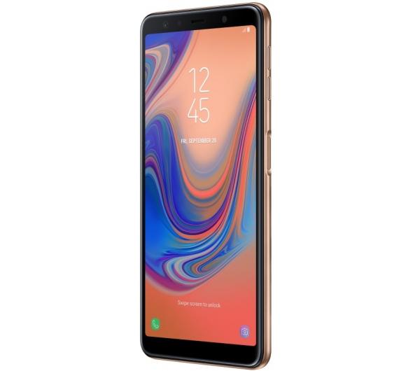 Smartphone Samsung Galaxy A7 2018 64GB Dual Sim Gold