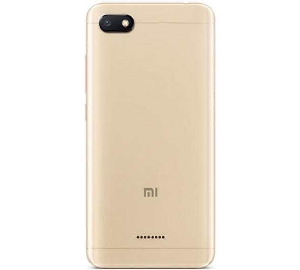Smartphone Xiaomi Redmi 6A 16GB Dual Sim Gold