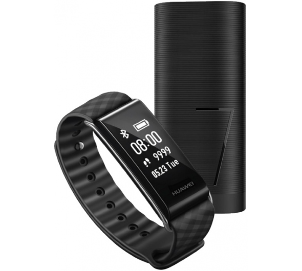 Activity Tracker Huawei Color Band A2 Black + Power Bank CP07 6700mAh